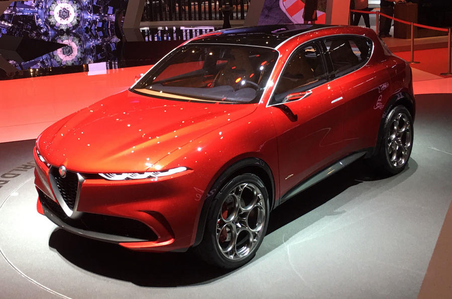 Alfa Romeo Tonale SUV shows its face at Goodwood 2019