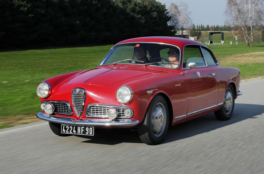 30: 1961 Alfa Romeo Giulietta Sprint