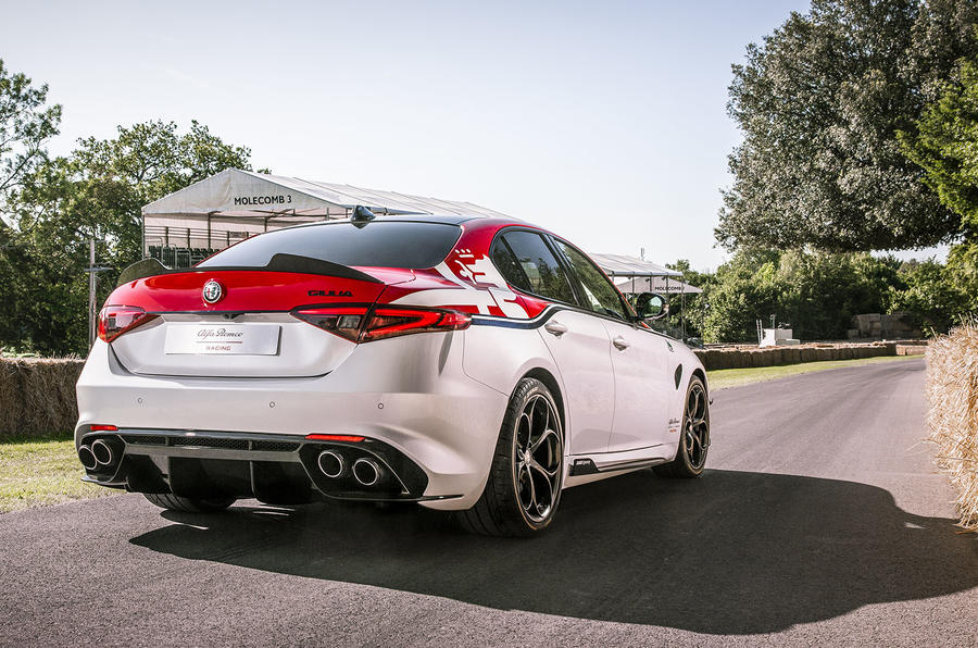Alfa Romeo Giulia F1 edition - Goodwood festival of speed 2019 reveal - rear