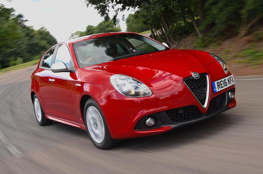 Alfa Romeo Giulietta - tracking front