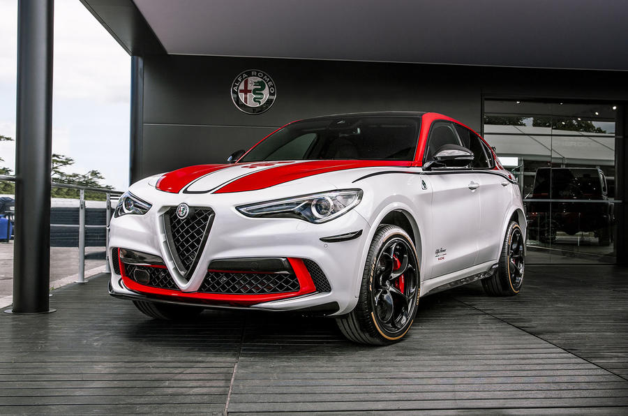 Alfa Romeo Stelvio F1 edition - Goodwood festival of speed 2019 reveal - front