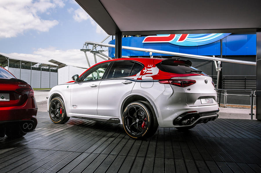 Alfa Romeo Stelvio F1 edition - Goodwood festival of speed 2019 reveal - rear