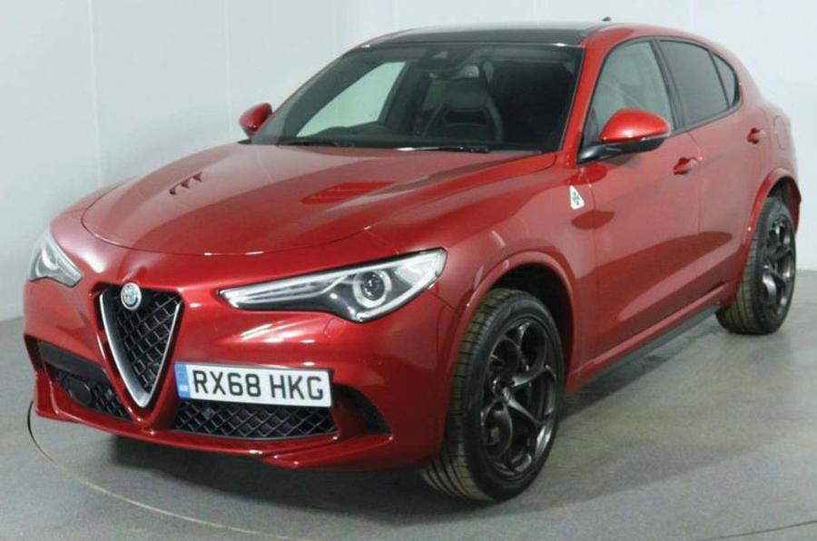 Alfa Romeo Stevlio Quadrifoglio