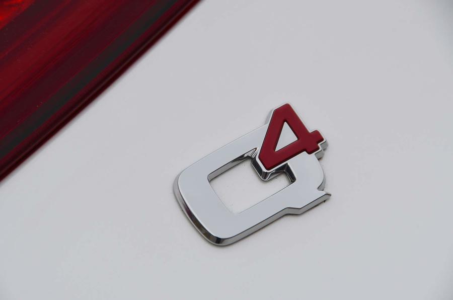 Alfa Romeo Stelvio Quadrifoglio 2018 Q4 badge