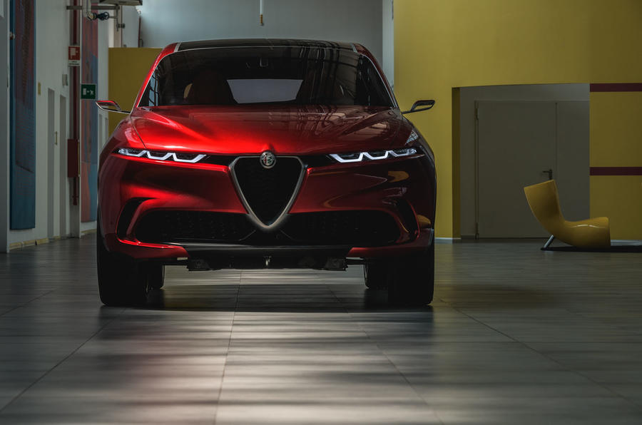 Alfa Romeo Tonale concept - nose