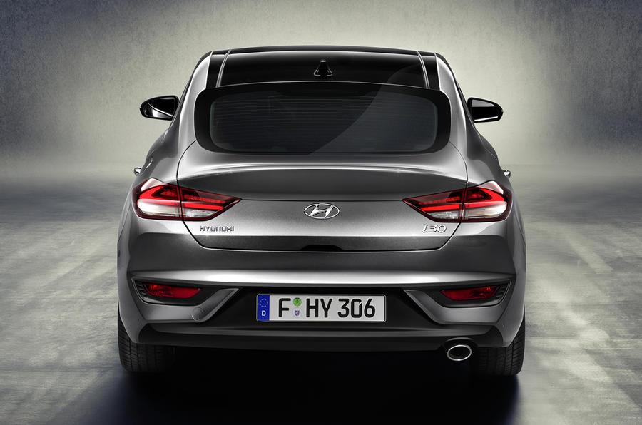 2018 hyundai fastback. perfect hyundai hyundai i30 fastback unveiled ahead of 2018 launch on hyundai fastback i