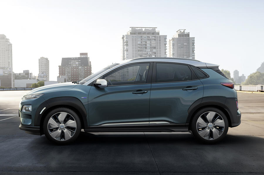 Hyundai Kona Electric gets 292-mile range, 7.6sec to 62mph
