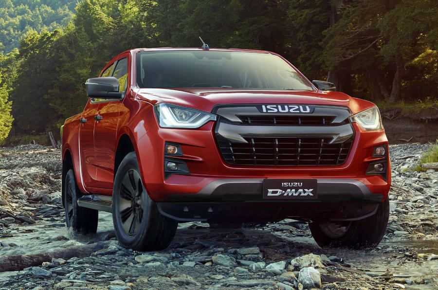 new 2021 isuzu d-max pick-up truck due in uk dealerships