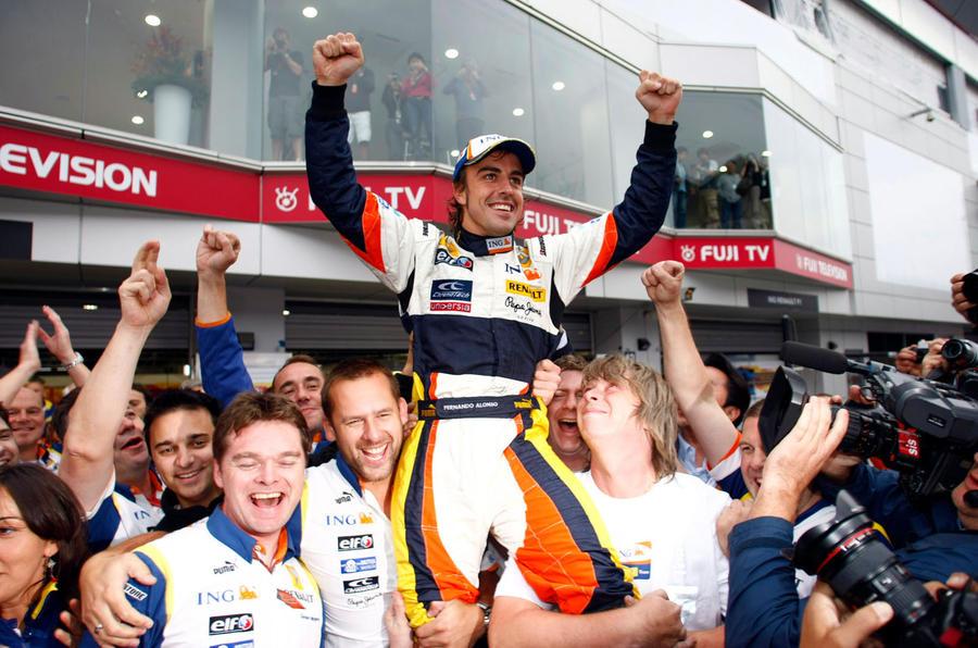 Fernando Alonso 2008 Japanese GP