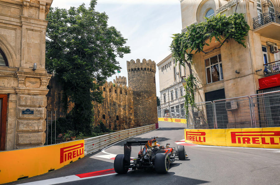 Recent F1 race in Baku was Alonso's 262nd grand prix