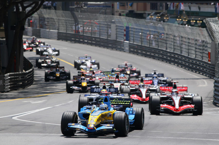 Fernando Alonso won the Monaco Grand Prix in 2006