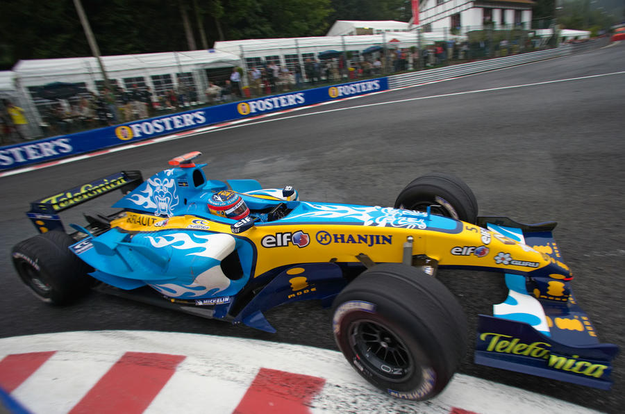 Alonso driving for Renault