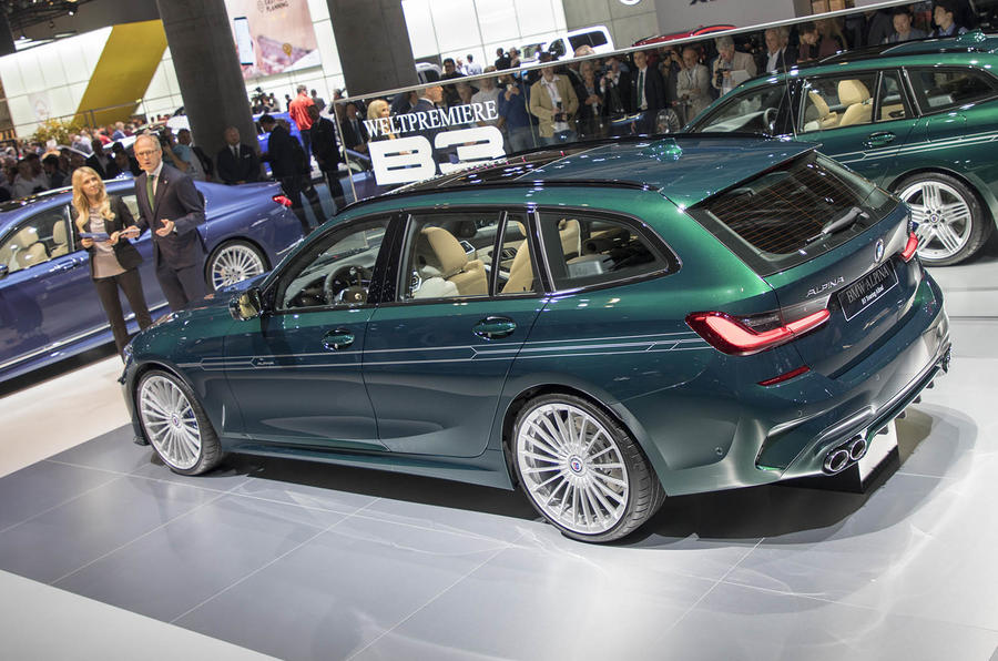 Alpina B3 Touring at Frankfurt 2019 - rear
