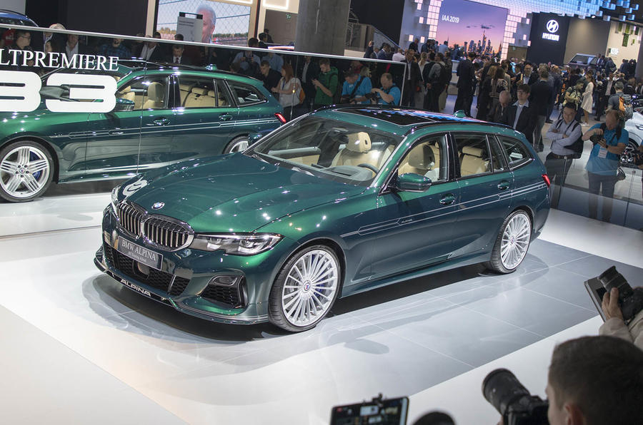 Alpina B3 Touring at Frankfurt 2019 - front