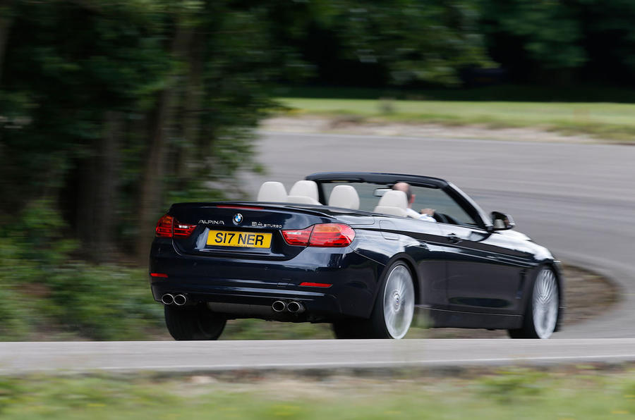 Alpina B4 Biturbo Convertible rear