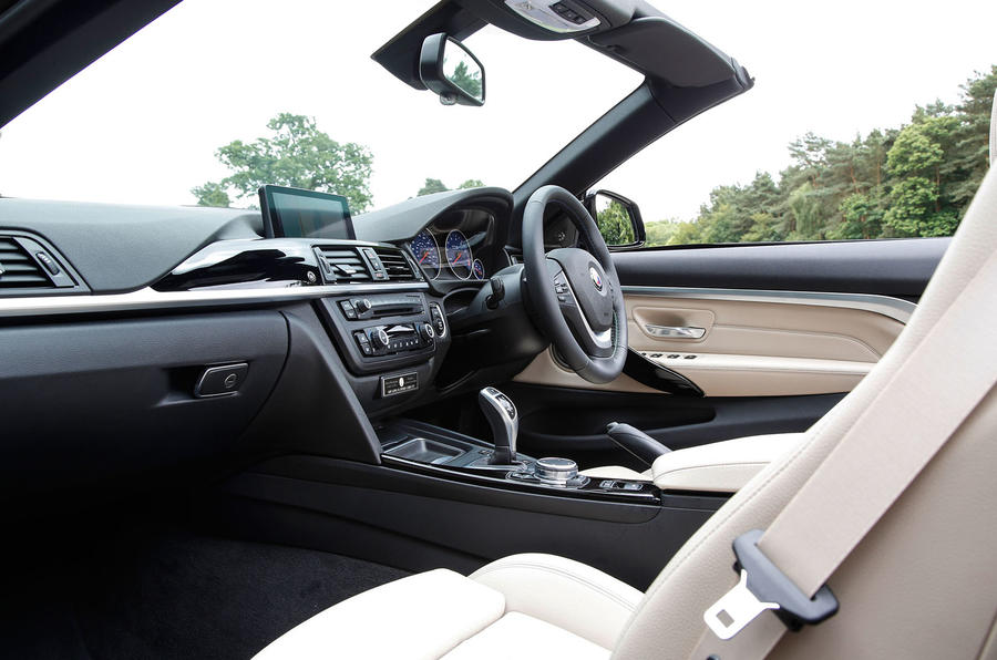 Alpina B4 Biturbo Convertible interior