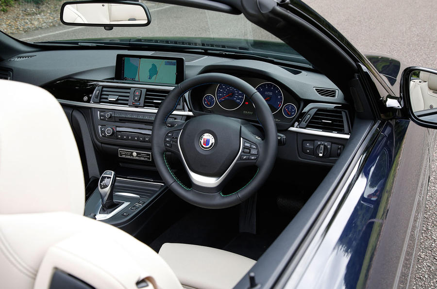 Alpina B4 Biturbo Convertible dashboard