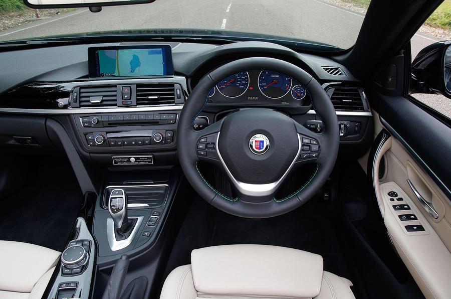 Alpina B4 Biturbo Convertible driver's seat