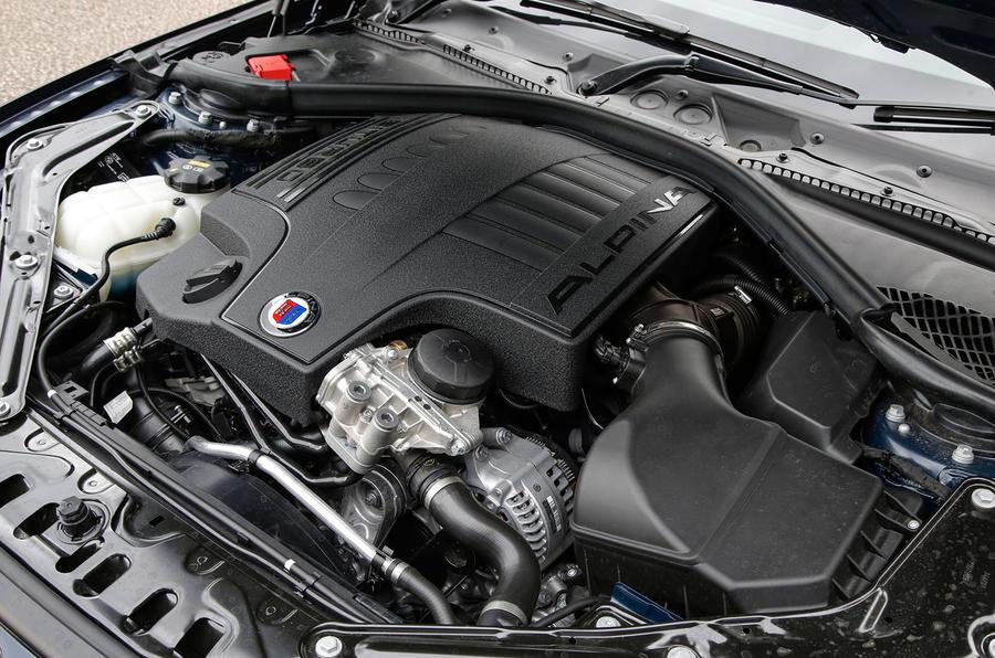 3.0-litre Alpina B4 Biturbo engine