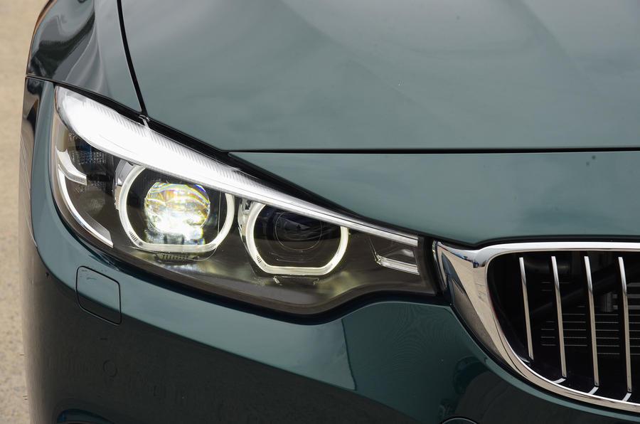 Alpina B4 S headlights
