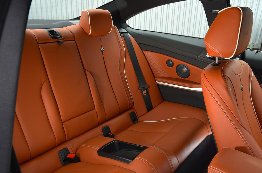 Alpina B4 S rear seats