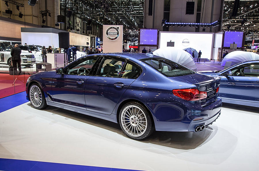 Hot Alpina B5 Gets 600bhp Bmw V8 Autocar
