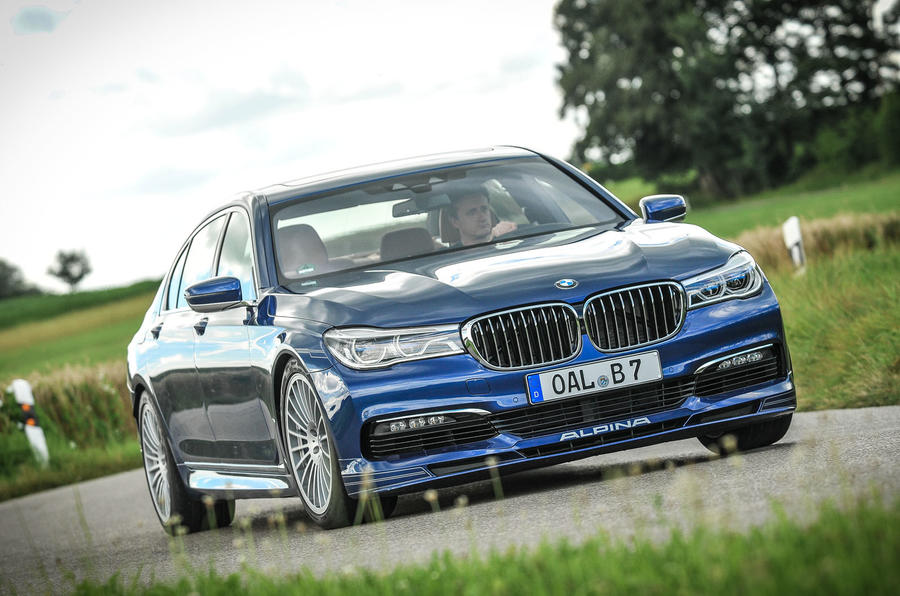 Alpina B Biturbo Review Review Autocar - Alpina bmw b7 price