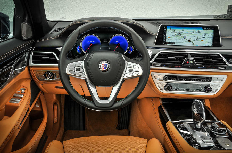 Alpina B7 dashboard