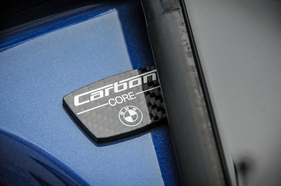 Alpina B7 carbon core chassis