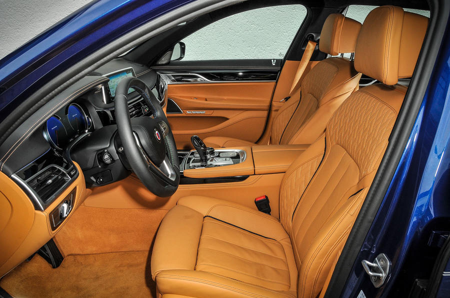 Alpina B7 interior