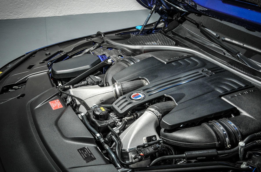 4.4-litre V8 Alpina B7 engine
