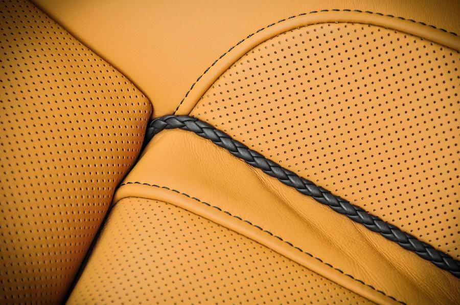 Alpina B7 perforated leather seats