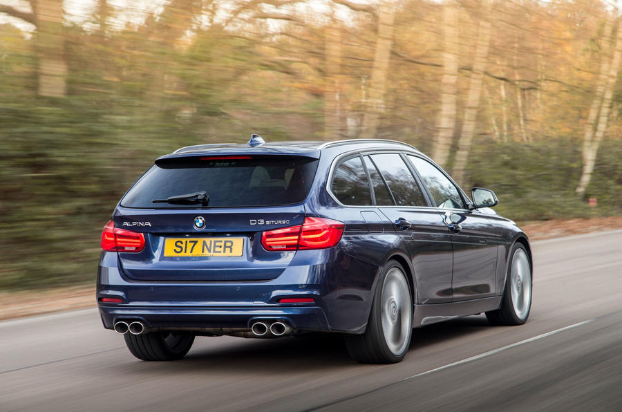 Alpina D3 Touring rear