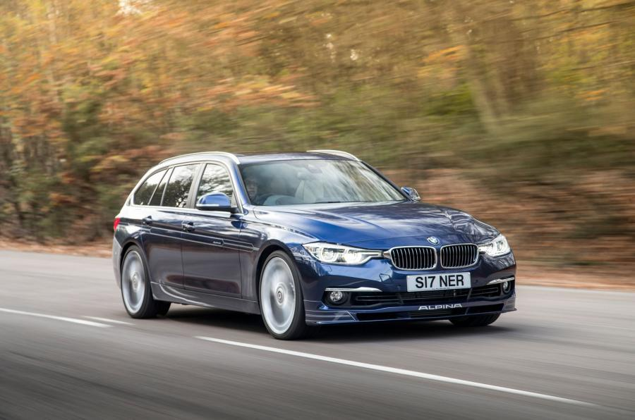 The new 170mph Alpina B3 Touring takes on the twisty roads