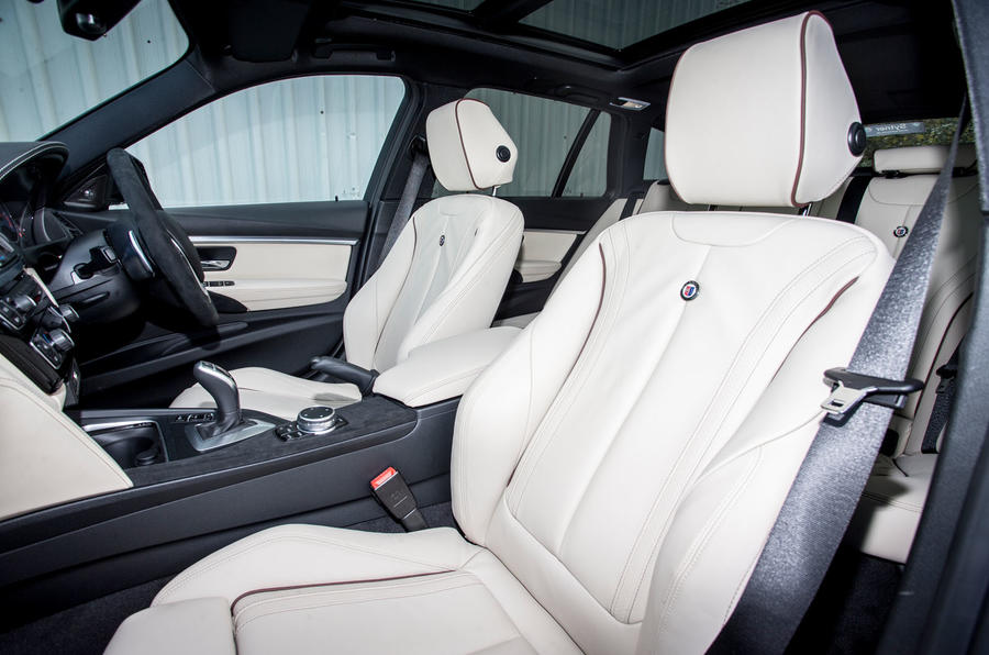 Alpina D3 Touring front seats