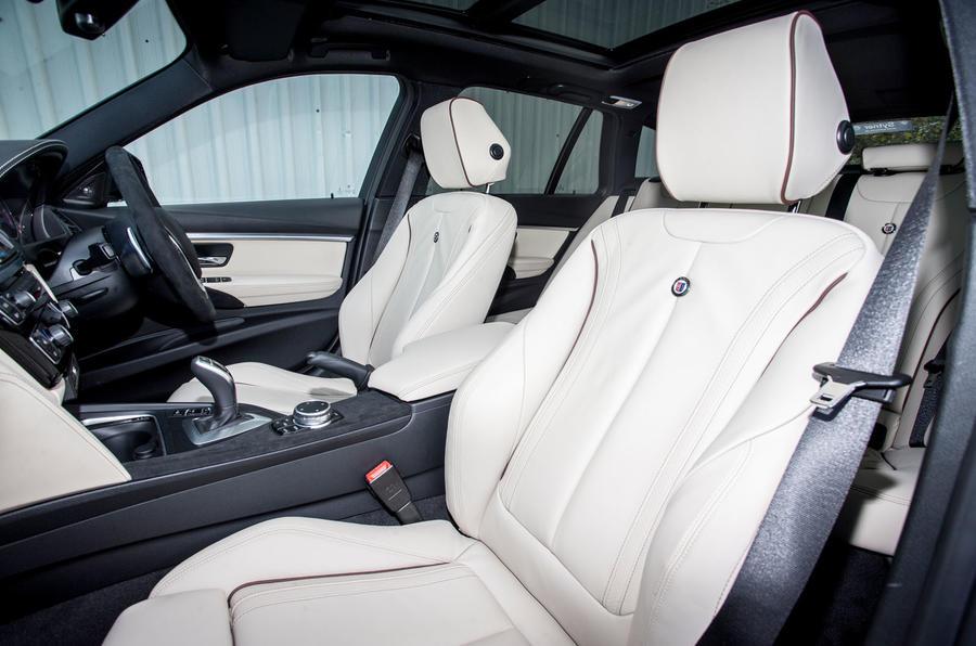 Alpina D3 Touring front seats