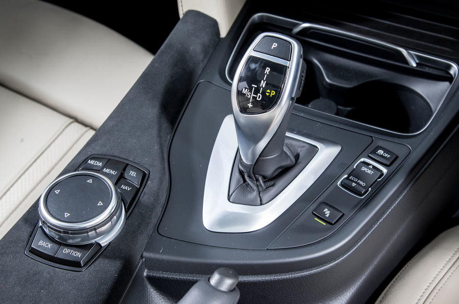 Alpina D3 Touring auto gearbox