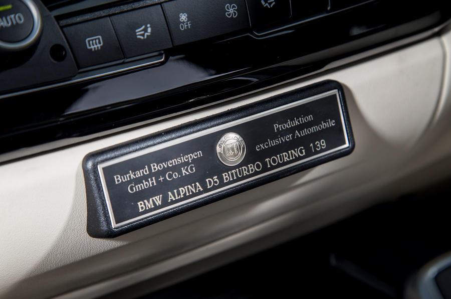 Alpina manufacturing plaque