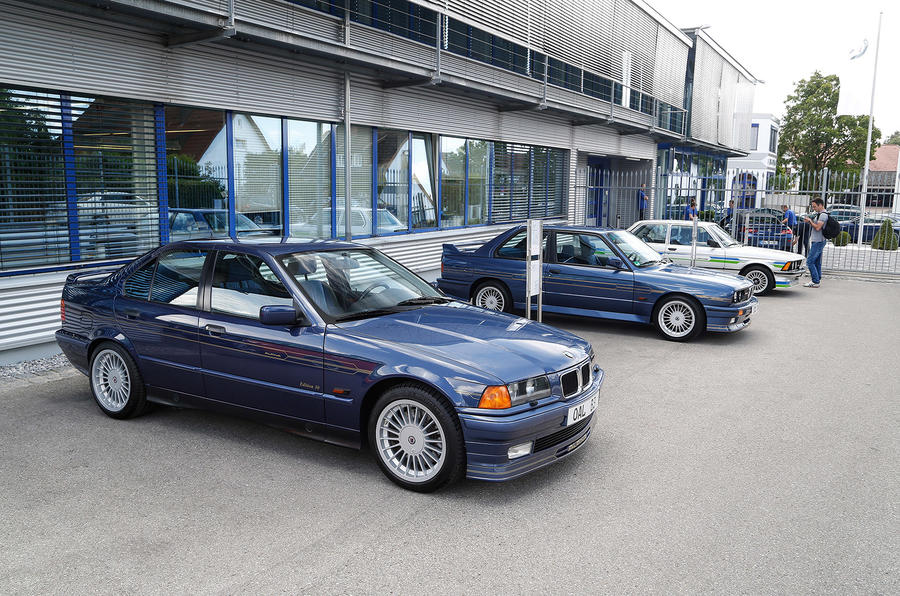 Alpina's 50th birthday celebration