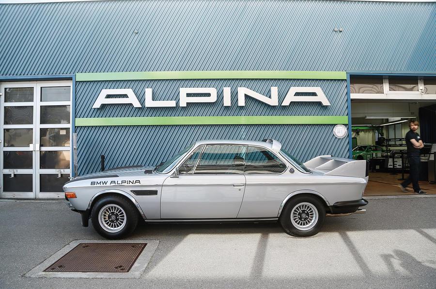 Alpina's 50th birthday celebration