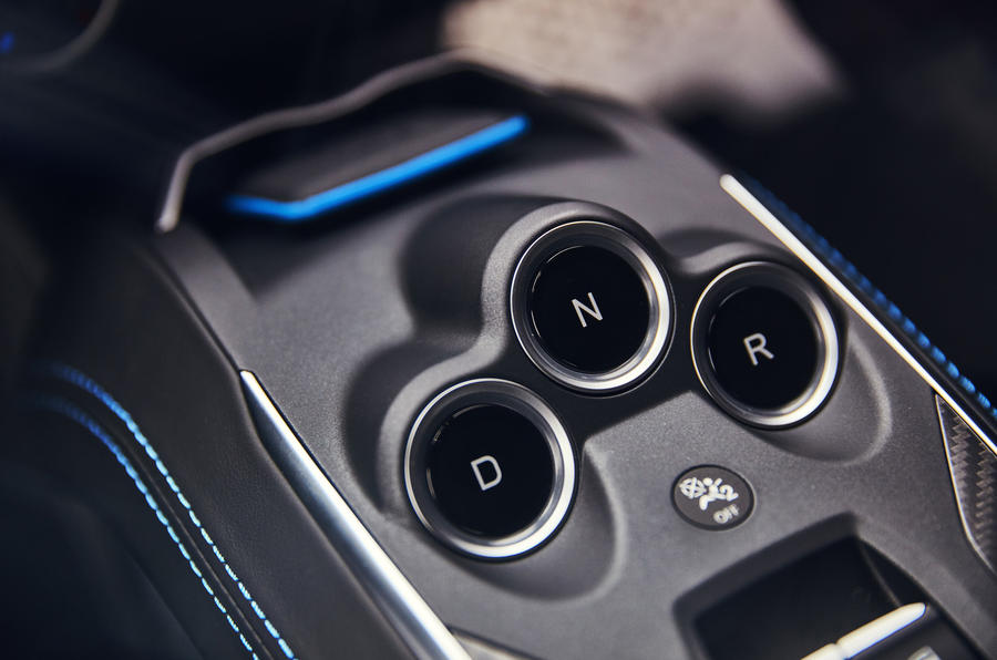 Alpine A110 automatic gearbox