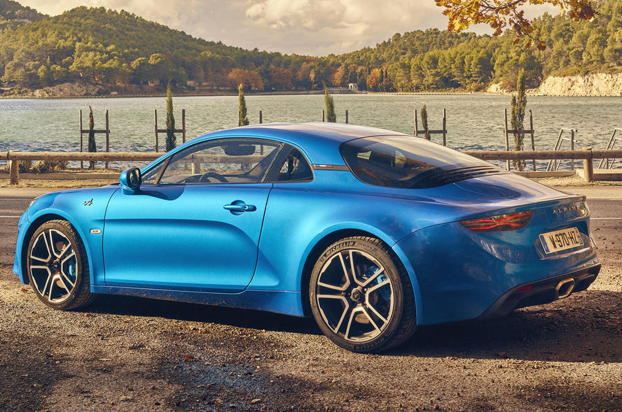 Alpine A110 rear quarter