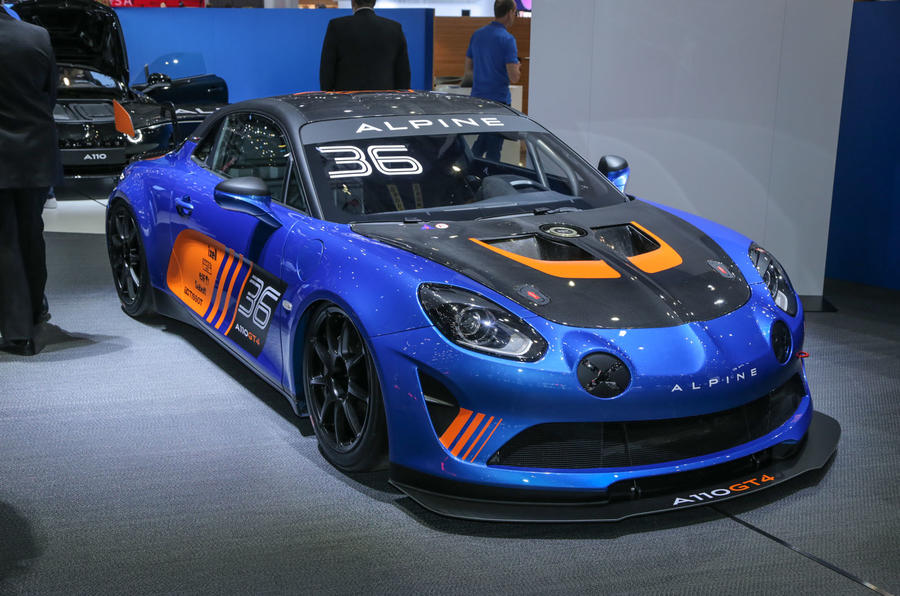 alpine a110 gt4 and cup cars shown at goodwood autocar. Black Bedroom Furniture Sets. Home Design Ideas