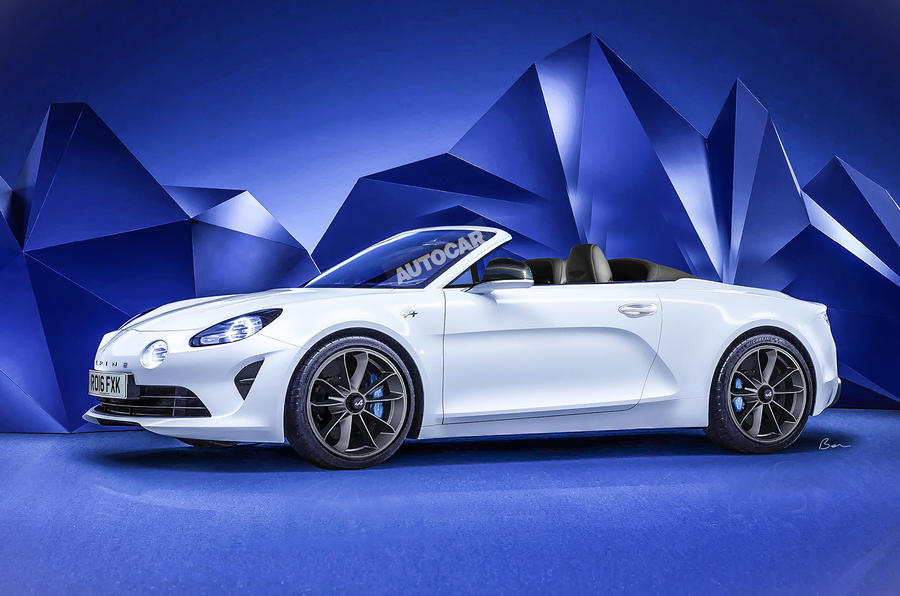 Alpine Sports Car Could Spawn Convertible And High