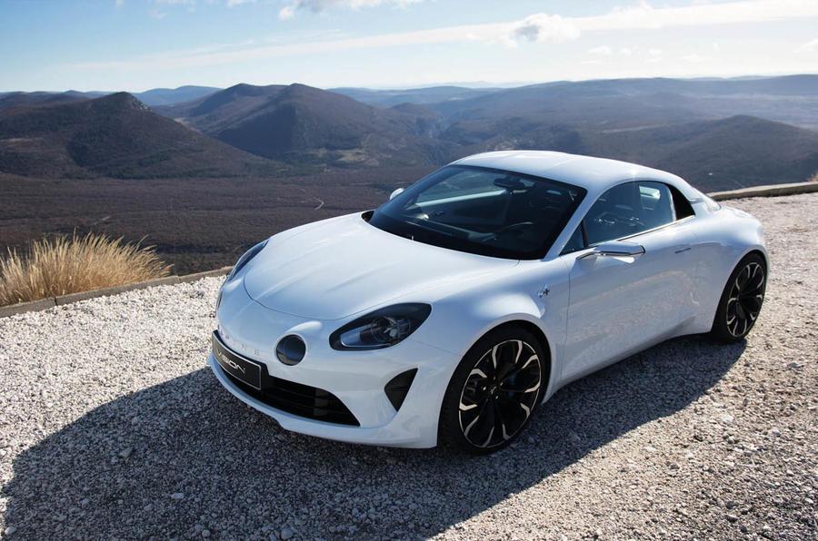 Alpine Vision Concept Unveiled Autocar