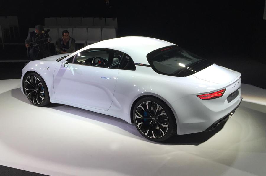 alpine vision concept unveiled autocar. Black Bedroom Furniture Sets. Home Design Ideas