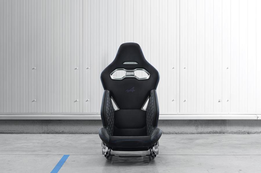 Alpine seat