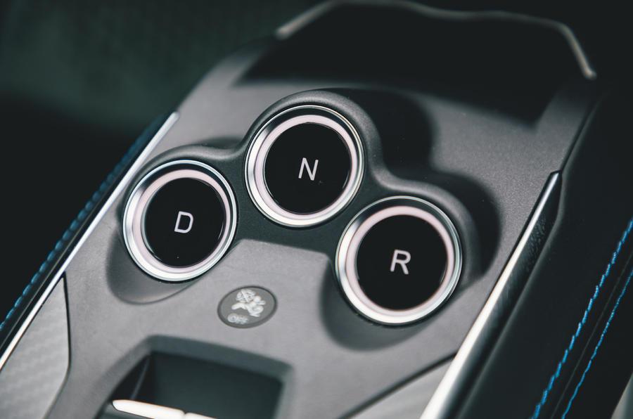 Britain's Best Car Awards 2020 - Alpine A110 gear selector