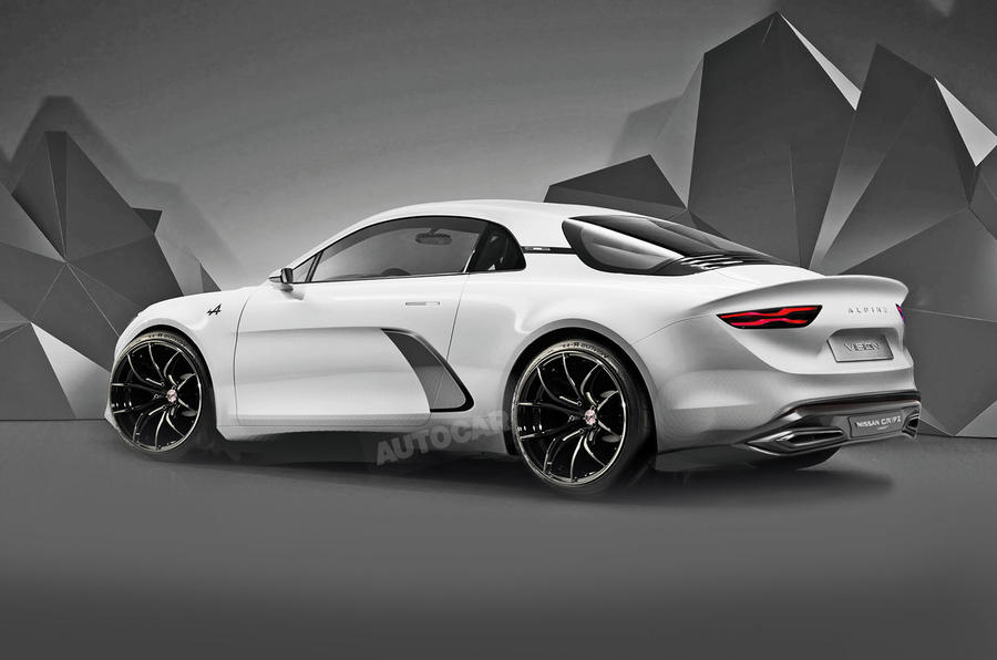 Alpine A120 render by Autocar