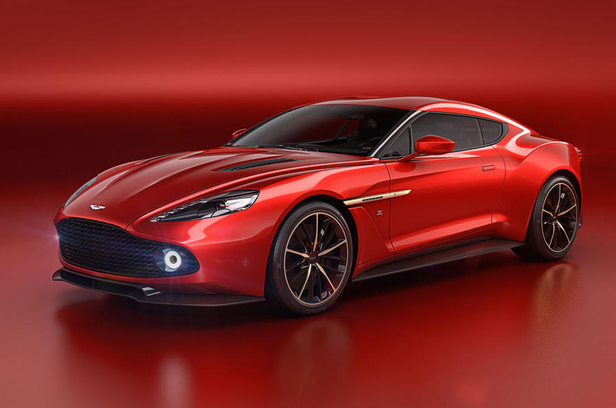 New Aston Martin >> New Aston Martin Vanquish Zagato Concept Unveiled Autocar